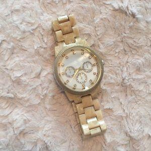 Ivory Tortoise Shell Watch